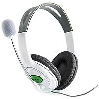 Sweetkisska New Headset Headphone With Mic Microphone Earphone For XBOX 360 Gaming Headset White