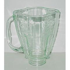 084036-000-000 Glass Blender Jar -Clover Top