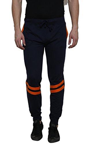 Rigo Navy Solid With Orange Stripe Detailing SlimFIt Jogger