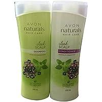 Avon Naturals Sleek Scalp Shampoo & Conditioner