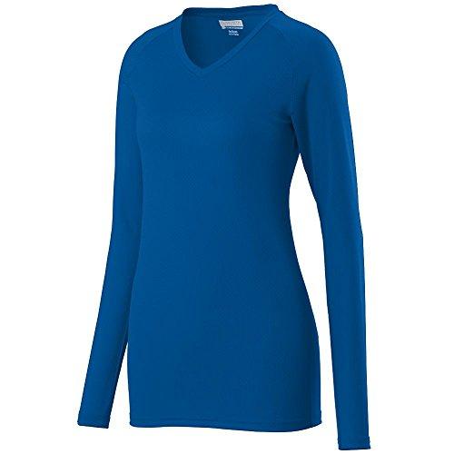 Augusta Sportswear Youth Hemmed V Neck Collar Jersey