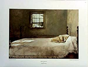 amazon com small print andrew wyeth lab master bedroom 12349 | 41zwfnh7vkl sx300 ql70