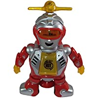 Parteet Dancing Robot With Flashing Light And Music(360 Degree Rotate)