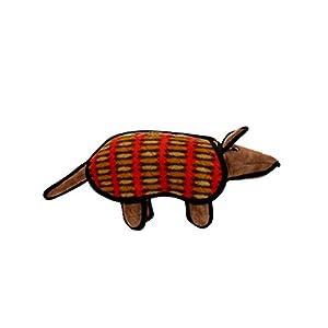 Amazon.com : Tuffy Desert Armadillo : Pet Squeak Toys