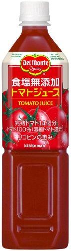 デルモンテ 食塩無添加 トマトジュース 900g×12本