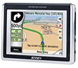"Jensen NVX200 3.5"" Touch Screen Portable Navigation GPS System"