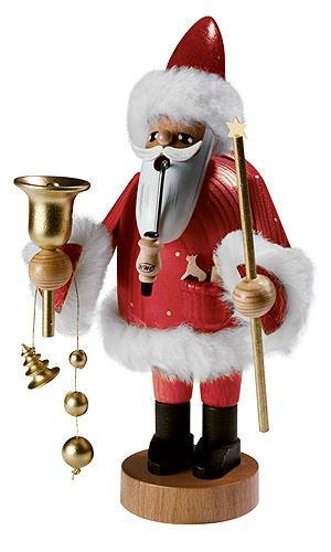German Incense Smoker Santa Claus - 18 cm / 7 inch - Authentic German Erzgebirge Smokers - KWO