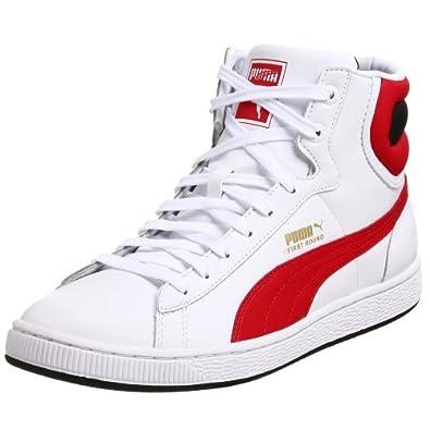 Amazon.com: PUMA Men's First Round L Basketball Shoe,White