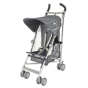 Amazon.com : Maclaren Volo Stroller - Charcoal/Silver