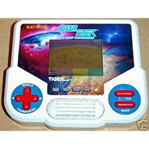 Click to buy Star Trek electronics: TNG handheld game from Amazon!