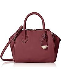 Rebecca Minkoff Mini Perry Satchel Top Handle Bag, Port, One Size