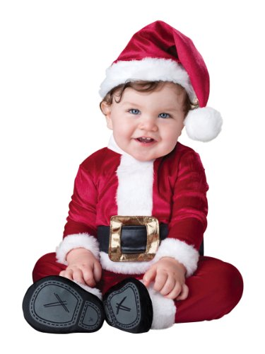 Baby's Baby Santa Costume, Red/White