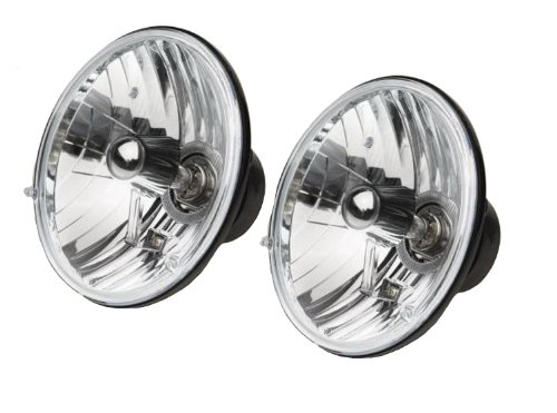 Rampage Jeep 5089925 Halogen Conversion Headlight Kit