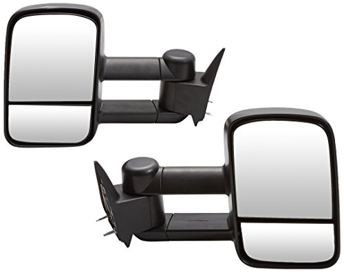 Spec-D Tuning RMX-C1088-M-FS Chevrolet Chevy C10 Pick Up Truck Manual Side Towing Mirrors Black