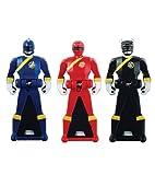 Power Rangers Super Megaforce - Wild Force Legendary Ranger Key Pack, Red/Black/Blue