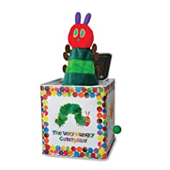 Kids Preferred The World of Eric Carle The Very Hungry Caterpillar Toy Jack in the Box
