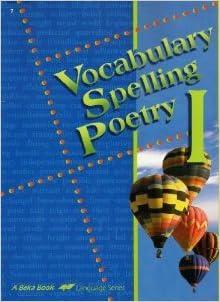 Spelling & Vocabulary Homeschool Curriculum