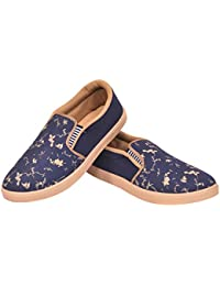 De L'amour Unisex Classic Slip-On Loafers And Moccasins- Leaf