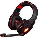 Gaming Headset KOTION EACH G4000 Stereo 3.5mm Plug Gaming Headphone Headset Headband With Mic Volume Control For... - B01EFV7CR8