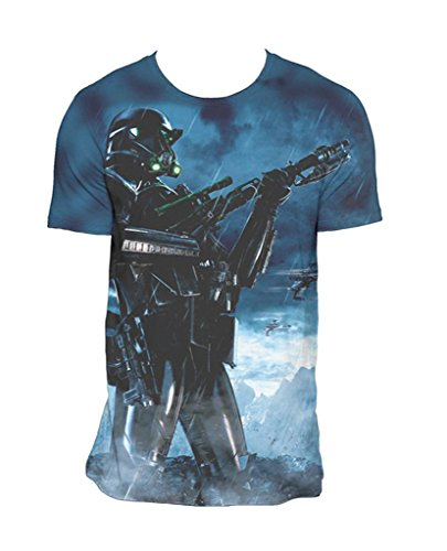 Star Wars Rogue One Death Trooper Pose Official Tee T-Shirt Mens Unisex