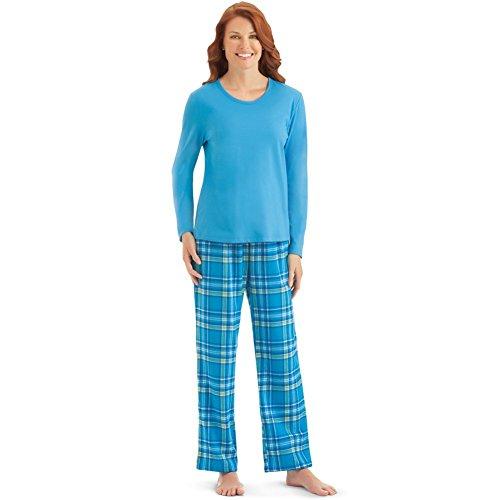 Womens Flannel Plaid Pajama Set, Plus Size, flannel pj's, winter jammies, keep me warm pj's