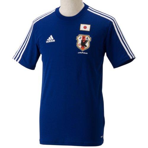 (アディダス)adidas 日本代表 ホームレプリカTシャツ AD649 G85293 ジャパンブルー/ホワイト J/L