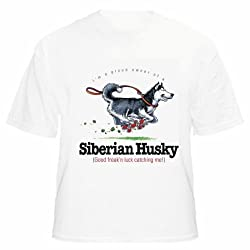 Beach Graphic Pros Siberian Husky Funny Friends Dog Lover Adult T-shirt