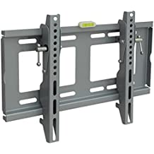 Han Shi- TV Wall Mount Silver Finished 19-43 Inch TV Bracket For Universal LED LCD Plasma HDTV 400x300 Mm Extension...