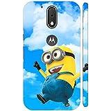 Clapcart Minion Design Printed Mobile Back Cover For Motorola Moto G4 Plus / Moto G Plus 4th Gen / Moto G4 -Multicolor