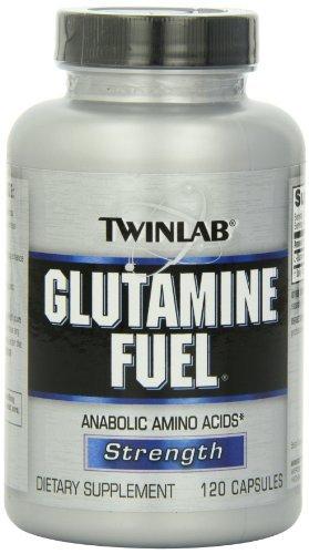 Twinlab Glutamine Fuel, 120 Capsules (Pack Of 2)