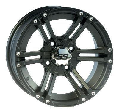 ITP SS212 Wheel – 12×7 – 5+2 Offset – 4/110 – Black , Wheel Rim Size: 12×7, Rim Offset: 5+2, Bolt Pattern: 4/110, Color: Black 1228364536B