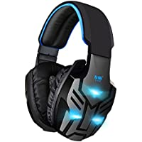 Yobo Y028 Over-ear Stereo Mega Bass Noise Cancelling Headset With Microphone For PC And Notebook White Black
