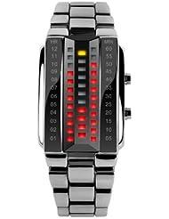 Pappi Boss Stylish Unique Metallic Chain Led Digital Bracelet Watch For Men, Boys, Girls, Women ( FOR WRIST SIZE...