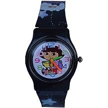 Creator Dora Black Designer Analog Watch - For Boys & Girls