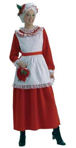 Women's Mrs. Claus Christmas Costume, Multi, Standard