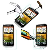 TEMPERED GLASS SHOCKPROOF SCREENGUARD For HTC DESIRE X MOBILE SCREEN GUARD