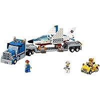 Lego City (448pcs) Space Port Training Jet Transporter Toy For Kids Figures Building Block Toys