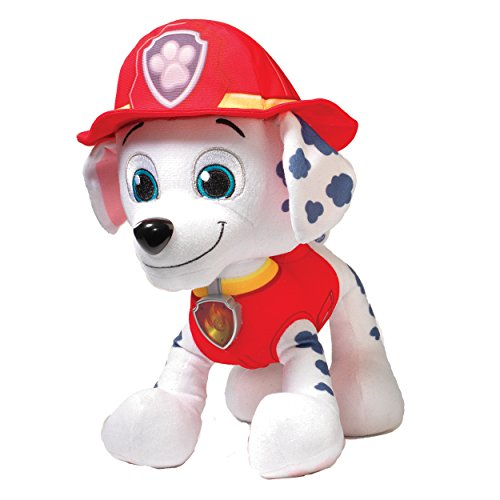 Paw Patrol Deluxe Lights and Sounds Plush - Real Talking Marshall