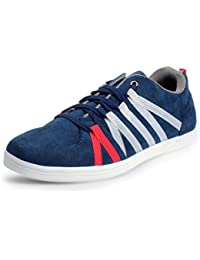 BACCA BUCCI MEN Blue Synthetic CASUAL SHOES - B01F72F7NA