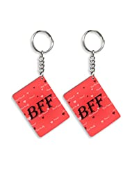 Gift For Friend & Friendship Day Gift Set Of 2 Keychain Design 2
