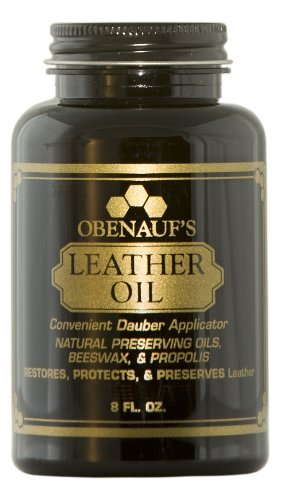 Obenauf's Leather Oil Conditions Restores Preserves Dry Leather (8oz With Applicator)