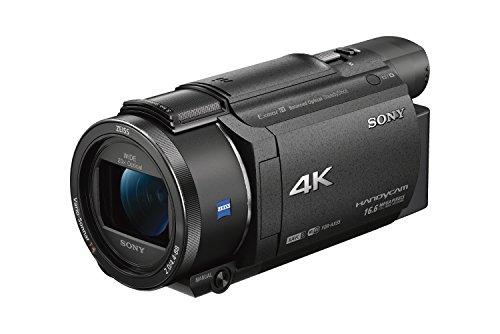 SONY 4Kビデオカメラ Handycam FDR-AX55 ブラック 光学20倍 FDR-AX55-B