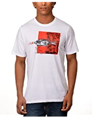 Kuroki Oceanic Love- Mens White Colour Round Neck Tshirts