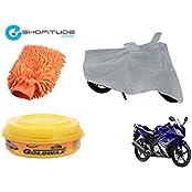 ESHOPITUDE-Bike & Car Cleaning & Utility Combo Set Of 3-Yamaha YZFR15