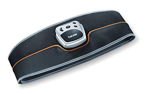 Beurer EM-35 - Cinturón electro estimulador para zona abdominal, 5 programas de...