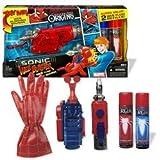 Spider-Man Origins Sonic Web Blaster with Web Fluid Refills