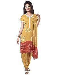 NITARA Women's Cotton Stitched Salwar Suit Sets - B01AJK64HS