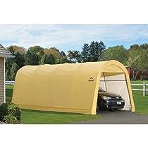 Best Buy Shelterlogic Round Style Auto Shelter 1 3 8 Inch 5 Rib Garden Canopy Sale