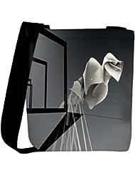 Snoogg Abstract 3D Design Designer Womens Carry Around Cross Body Tote Handbag Sling Bags