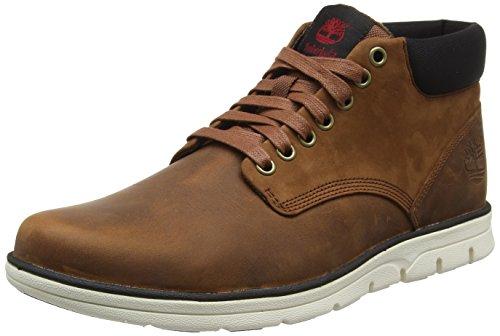 Timberland Herren Bradstreet_Bradstreet_Bradstreet Chukka Leather Hohe Sneakers, Braun (Red Brown FG), 44.5 EU